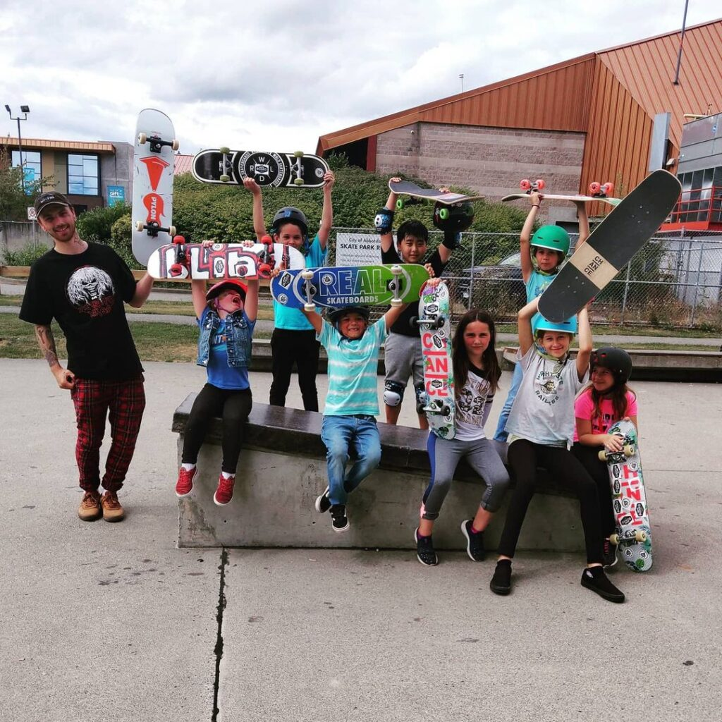 skateboard camp